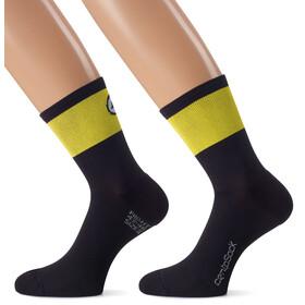 assos CentoSocks_Evo8 Fietssokken Unisex geel/zwart